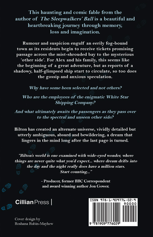 The Known and Unknown Sea by Alan Bilton - Book Cover Back